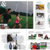 Yearbook Print Layout