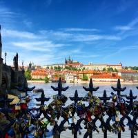 Vlatva River in Prague